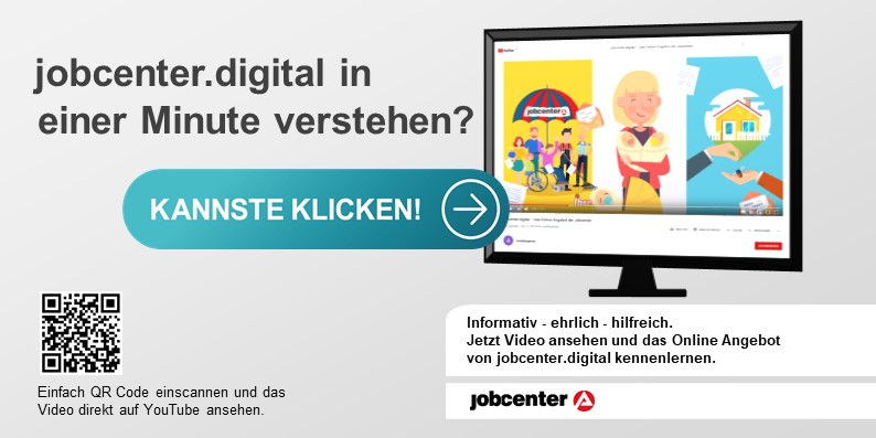 Youtube Flyer jobcenter.digital